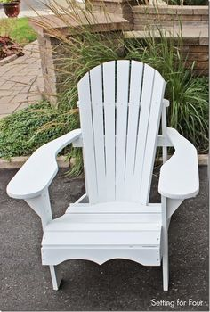 Easy Way to Make an Adirondack Chair