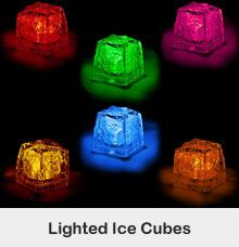 Glow Sticks | Lighted Ice Cubes | Glow Party Supplies | Lighted Novelties