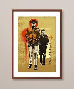 Midnight Cowboy poster art Midnight Cowboy print by TheIndoorType, £10.99