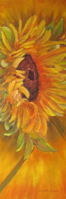 """Tuscan Sun"" original painting."