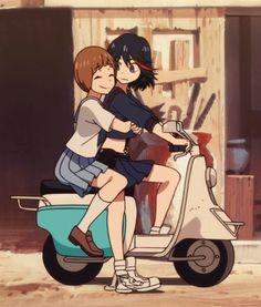 Ryuko and Mako - Kill la Kill