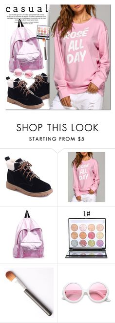 """""""Casual Style"""" by oshint ❤ liked on Polyvore featuring ZeroUV, awesome, amazing, Pink, fabulous and twinkledeals"""