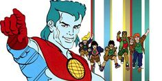 It's just been announced that a movie based on the '90s Captain Planet and the Planeteers animated series is in the works at Paramount, in partnership with Leonardo DiCaprio's Appian Way Productions...