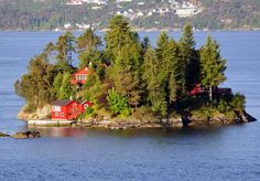 Because you can live on this island, surrounded by beautiful Norway, and NEVER LEAVE.