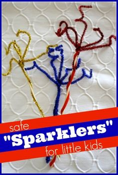 Safe Sparklers for Little Kids