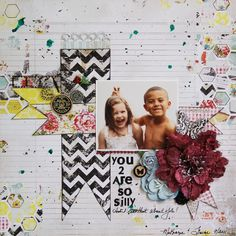 You 2 Are So Silly - Scrapbook.com