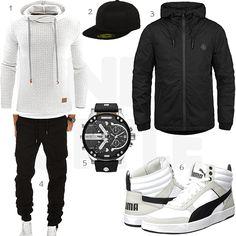 Top Herren-Outfit im Finest-Trend-Style für ein selbstbewusstes Modegefühl mit tollen Produkten von Junshan,Flexfit,!Solid,Amaci&Sons,Diesel,Puma