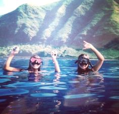 Island snorkeling...I'd totally invest in an underwater camera to make my friends jealous of my awesome trip.