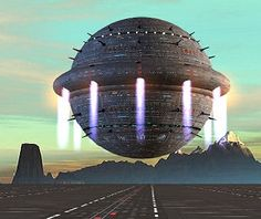 An Arkonide starship. Earth Two, Perry Rhodan, Alien Ship, Spaceship Art, Aliens And Ufos, Alien Worlds, Science Fiction Art, Sci Fi Movies, Space Travel