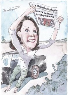 Michelle Bachmann. Bring it on.