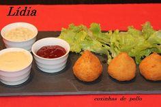 Mis platos favoritos: COXINHAS DE POLLO (PASO A PASO)