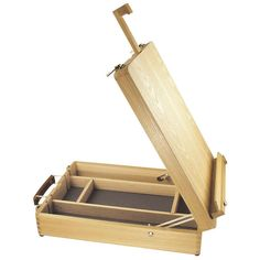 Daler Rowney - Edinburgh Box Table Easel in Crafts, Painting, Drawing & Art, Painting Supplies Wooden Easel, Wooden Boxes, Woodworking Workshop, Diy Woodworking, Table Easel, Build A Table, Art Easel, Small Wood Projects, Box Store