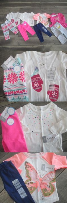 Mixed Items And Lots 147220 6 Piece Lot Of Baby Girl Fall Winter