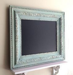 Hey, I found this really awesome Etsy listing at https://www.etsy.com/listing/168893689/framed-chalkboard-antique-chalkboard
