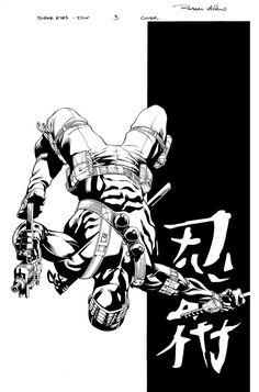 Snake Eyes Cover 3 inks by RobertAtkins on DeviantArt
