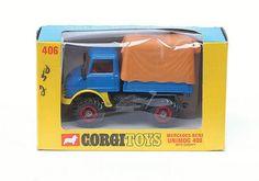 Mettoy Corgi diecast No.406 Mercedes Benz Unimog 406