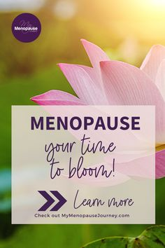 """How to thrive during menopause 