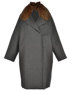 BRUNELLO CUCINELLI COAT WITH FUR. #brunellocucinelli #cloth #