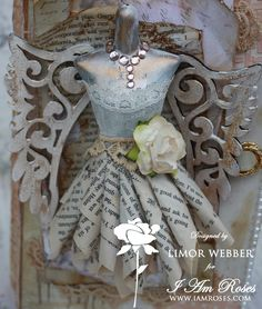 Chic Scrapbook Designs By Limor Webber: Shabby Chic Altered Cigar box