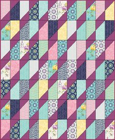 Precious Gem - Free Quilt Pattern - Layer Cake