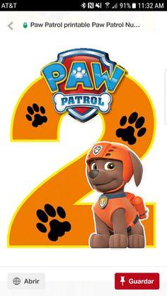 Zuma Paw Patrol, Paw Patrol Cake, Paw Patrol Party, Second Birthday Ideas, Birthday Images, 2nd Birthday, Fiesta Party Decorations, Diy Halloween Decorations, Paw Patrol Birthday Theme