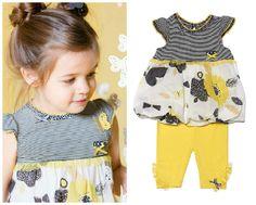 Deux Par Deux | Little Miss Sunshine Collection #ss15 #butterflyprint #kidsfashion #modeenfants