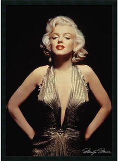 Decorate With Classic Hollywood Glam! This Vintage Marilyn Monroe Poster Celebrates The Smoldering Silver-Screen Siren In All Her Commanding Beauty. One Of The Most Famous Movie Stars Of The '50S & '6