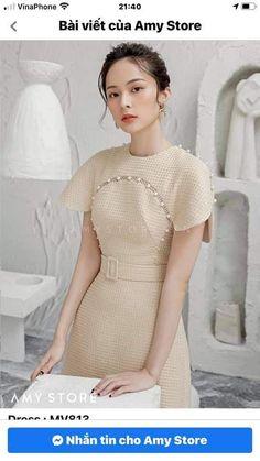 Cape Dress, Dress Up, Asian Fashion, Day Dresses, Pretty Dresses, Stylish Outfits, Fashion Dresses, Short Sleeve Dresses, Style Inspiration