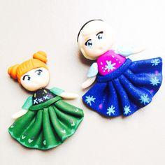 Petites Anna et Elsa