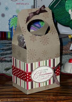 @Kat Ellis F. Apicello any idea where we could find boxes like this....for them to put their cookies in?