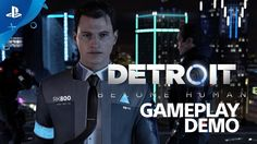 [Video] Detroit: Become Human - E3 Live Gameplay Demo #Playstation4 #PS4 #Sony #videogames #playstation #gamer #games #gaming