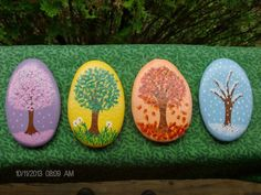 Four+Seasons+Tree+Stones+Set++MadetoOrder+by+TheSimplifiedWitch,+$16.00