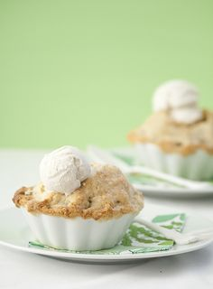Dorie Greenspan's individual apple pies recipe