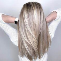 Cool Blonde Hair Colour, Blonde Hair Looks, Blonde Hair With Highlights, Best Blonde Hair, Brown Blonde, Blonde Brunette, Blonde Haircuts, Hair Color For Women, Emily Ratajkowski