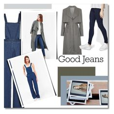 """""""Good Jeans: French Connection"""" by frenchconnection ❤ liked on Polyvore featuring French Connection, women's clothing, women, female, woman, misses, juniors, denim, distresseddenim and FrenchConnection"""