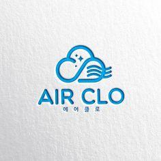 로고 + 명함 | 살균/탈취제 AIR CL... | 라우드소싱 포트폴리오 Typography Logo, Logo Branding, Branding Design, Logos, Ci Design, Book Design, Education Logo Design, Cosmetic Logo, Badge Logo