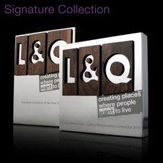 Bespoke Corporate Award | Gaudio Signature Collection | Aluminium Tablet