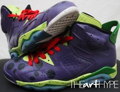 Kobe colorways continue to touch customs on the Air Jordan 6 ? Air Jordan Vi, Jordan Shoes, Custom Jordans, Popular Sneakers, Latest Shoe Trends, Classic Sneakers, Sports Shoes, Michael Jordan, Shoe Game