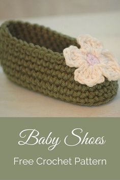 Free Baby Booties Crochet Pattern Cute Baby Shoes ...