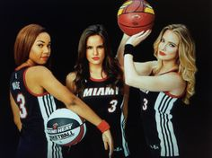 Jasmine, Jordana and Annilie of FOX Sports Florida Girls
