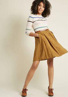 Love this skirt! #Skirt #Summer #Fall #Style #Fashion #WomensFashion #ad