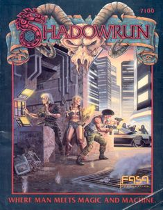 shadowrun   GM Musings: Shadowrun   Guilt Free Games