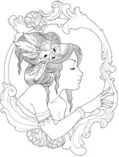 Drawing tattoo girl coloring pages 48 new Ideas Tattoo Girls, Girl Tattoos, Love Quote Canvas, Canvas Quotes, Tattoo Drawings, Cool Drawings, Gypsy Tattoo Design, Framed Tattoo, Coloring Pages For Girls
