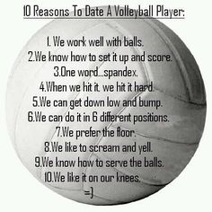 Love this! <3 volleyball <3