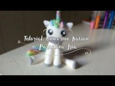 UNICORNIO KAWAII | TUTORIAL PORCELANA FRIA | LARA ALVAREZ - YouTube