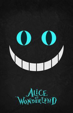 Alice in Wonderland - Minimalist Poster 02 Art Print