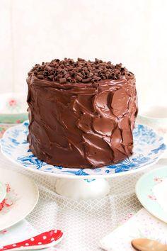 Vídeo-receta en un minuto: Tarta de chocolate Choco Chocolate, Chocolate Recipes, Chocolate Ganache, Cupcakes, Cake Cookies, Cupcake Cakes, Sweet Recipes, Cake Recipes, Dessert Recipes