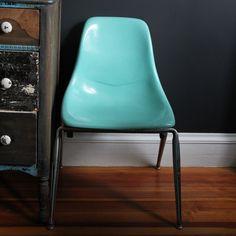 Mid-Century Fiberglass Side Chair