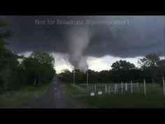 May 9th, 2016 Tornado outbreak. Tornado Wynnewood Oklahoma