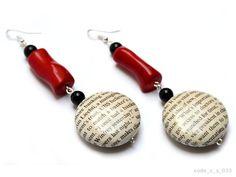 Mika Jewelry-Spring / Summer 2012 - Handmade paper jewelry